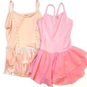 Pink Ballet Dance Leotard Tutu Bundle XS, S